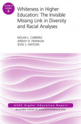 Omslag - Whiteness in Higher Education: The Invisible Missing Link in Diversity and Racial Analyses