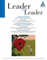 Omslag - Leader to Leader: Winter 2016 Volume 83