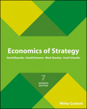 Economics of Strategy av David Besanko, David Dranove, Scott Schaefer og Mark Shanley (Heftet)