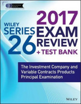 Omslag - Wiley Finra Series 26 Exam Review 2017