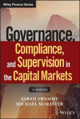 Omslag - Governance, Compliance and Supervision in the Capital Markets + Website