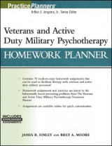 Omslag - Veterans and Active Duty Military Psychotherapy Homework Planner