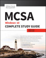 Omslag - MCSA: Windows 10 Complete Study Guide: Exams 70-698 and Exam 70-697