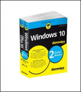 Omslag - Windows 10 & Office 365 For Dummies, Book + Video Bundle