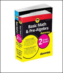 Basic Math & Pre-Algebra Workbook For Dummies with Basic Math & Pre-Algebra For Dummies Bundle av Mark Zegarelli (Heftet)