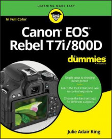 Canon EOS Rebel T7i/800D For Dummies av Julie Adair King (Heftet)