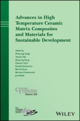 Omslag - Advances in High Temperature Ceramic Matrix Composites and Materials for Sustainable Development