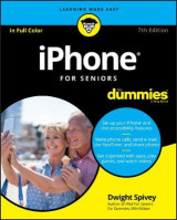 Omslag - iPhone For Seniors For Dummies