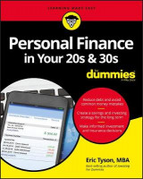 Omslag - Personal Finance in Your 20s and 30s For Dummies