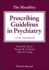 Omslag - The Maudsley Prescribing Guidelines in Psychiatry