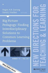 Omslag - Big Picture Pedagogy: Finding Interdisciplinary Solutions to Common Learning Problems