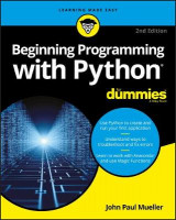 Omslag - Beginning Programming with Python For Dummies