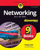 Omslag - Networking All-in-One For Dummies