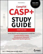 CASP+ CompTIA Advanced Security Practitioner Study Guide av Michael Gregg og Jeff T. Parker (Heftet)