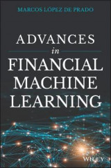 Omslag - Advances in Financial Machine Learning