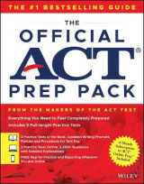 Omslag - The Official ACT Prep Pack with 5 Full Practice Tests (3 in Official ACT Prep Guide + 2 Online)