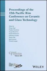 Omslag - Proceedings of the 12th Pacific Rim Conference on Ceramic and Glass Technology; Ceramic Transactions, Volume 264
