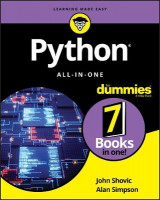 Omslag - Python All-in-One For Dummies