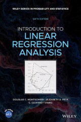 Omslag - Introduction to Linear Regression Analysis