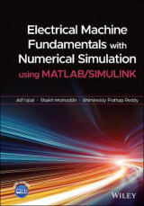 Omslag - Electrical Machine Fundamentals with Numerical Simulation using MATLAB / SIMULINK