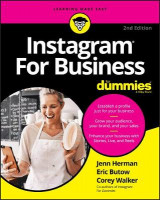 Omslag - Instagram For Business For Dummies