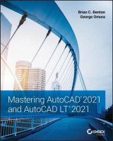 Omslag - Mastering AutoCAD 2021 and AutoCAD LT 2021