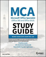 Omslag - MCA Microsoft Office Specialist (Office 365 and Office 2019) Study Guide