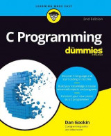 Omslag - C Programming For Dummies