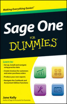 Sage One For Dummies av Jane Kelly (Heftet)