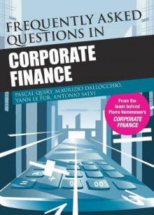Frequently Asked Questions in Corporate Finance av Pascal Quiry, Yann Le Fur, Antonio Salvi og Maurizio Dallochio (Heftet)