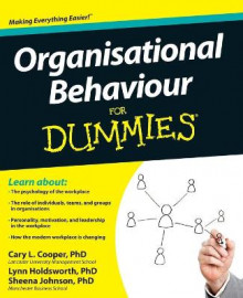Organisational Behaviour for Dummies av Cary L. Cooper, Sheena Johnson og Lynn Holdsworth (Heftet)