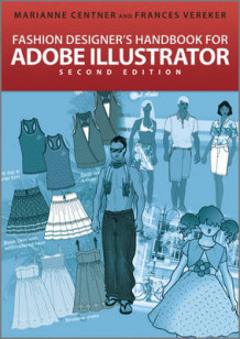 Fashion Designer's Handbook for Adobe Illustrator 2nd Edition av Marianne Centner og Frances Vereker (Heftet)