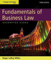Cengage Advantage Books: Fundamentals of Business Law: Excerpted Cases av Roger Miller (Heftet)