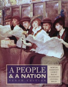A People and a Nation av David W. Blight, Howard P. Chudacoff, Fredrik Logevall, Beth Bailey, Mary Beth Norton, Carol Sheriff og Jane Kamensky (Innbundet)