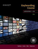 Omslag - Keyboarding Course, Lessons 1-25