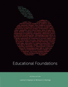 Educational Foundations av William A. Owings, Leslie Kaplan og Robert J. Marzano (Innbundet)