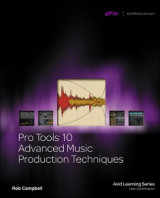Omslag - Pro Tools 10 Advanced Music Production Techniques