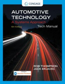 Tech Manual for Erjavec's Automotive Technology: A Systems Approach av Jack Erjavec, Rob Thompson, Steven S. Zumdahl og Susan Zumdahl (Heftet)