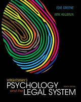 Omslag - Cengage Advantage Books: Wrightsman's Psychology and the Legal System