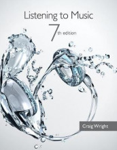 Listening to Music (with Introduction to Listening CD) av Craig Wright (Blandet mediaprodukt)