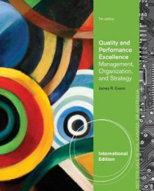 Quality and Performance Excellence av James R. Evans (Heftet)