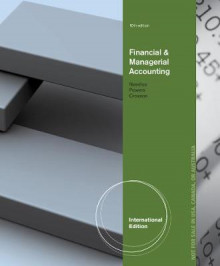 Financial and Managerial Accounting av Belverd E. Needles, Marian Powers og Susan Crosson (Heftet)