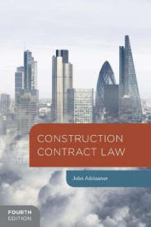Construction Contract Law av John Adriaanse (Heftet)