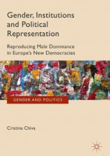 Omslag - Gender, Institutions and Political Representation