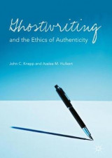 Omslag - Ghostwriting and the Ethics of Authenticity 2017