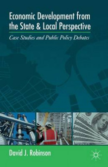 Economic Development from the State and Local Perspective av David J. Robinson (Innbundet)