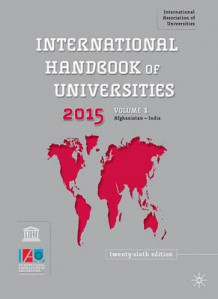 International Handbook of Universities 2014 av International Association of Universities (Innbundet)