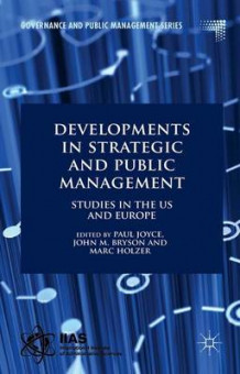Developments in Strategic and Public Management (Innbundet)