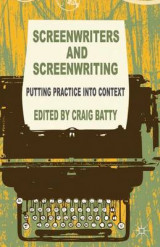 Omslag - Screenwriters and Screenwriting