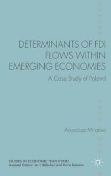 Determinants of FDI Flows within Emerging Economies av Arkadiusz Mironko (Innbundet)